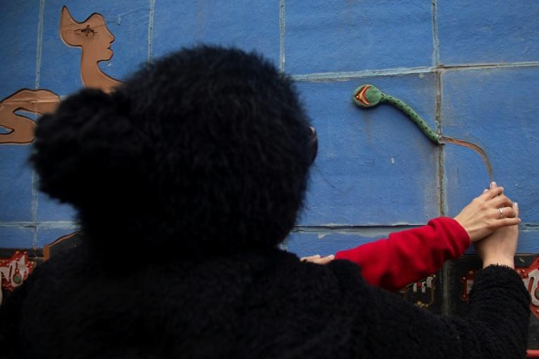 Projeto Mão na Parede (arte para deficientes visuais Santiago, Chile)