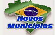 Criação de novos municípios