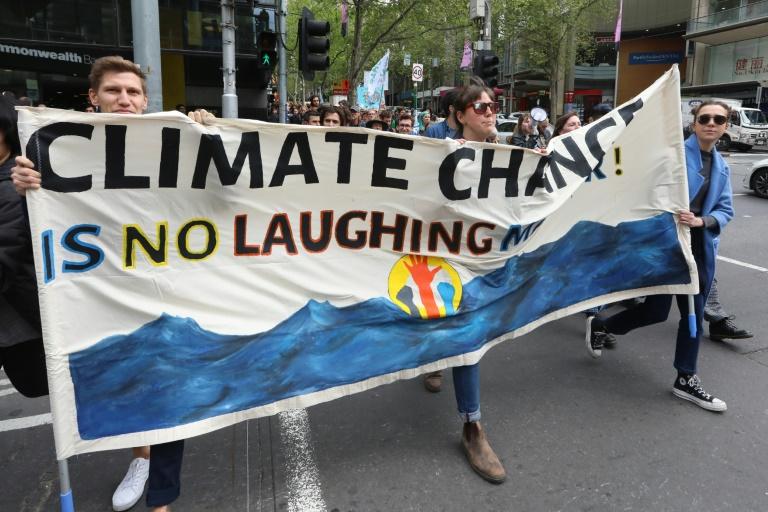 'Rebelião Internacional' contra mudança climática toma cidades do mundo
