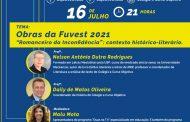 """OBJETIVO ANALISA, EM LIVE, O """"ROMANCEIRO DA INCONFIDÊNCIA"""",  OBRA DE LEITURA OBRIGATÓRIA DA FUVEST 2021"""